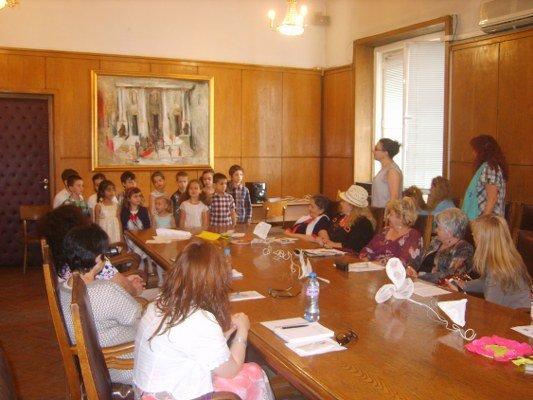 Деца от детска градина Брезичка-София