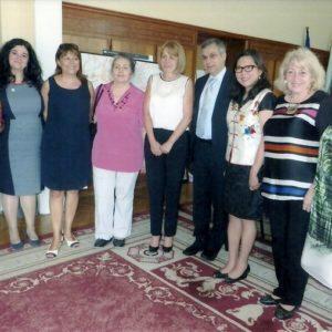 Маги Коонг, Нектариос Стелакис, , Елена Русинова, Йорданка Фандъкова