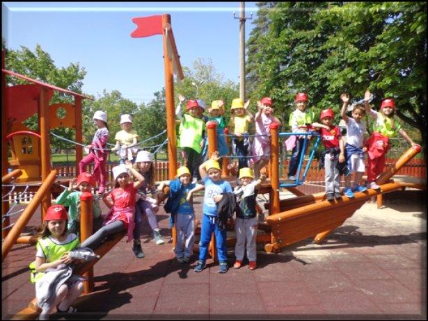 Деца от детска градина в Сливен