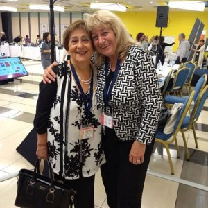 Prof. Selma Simonstein (former World President of OMEP) and Prof. Elena Roussinova