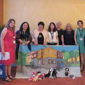 Българската група на юбилейната конференция в Прага, 2018 г.