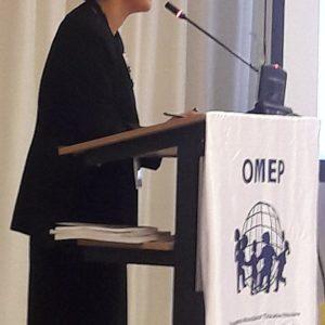 Слово на председателката на Световната организация OMEP