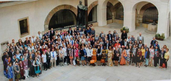 World OMEP - делегати на Юбилейната асамблея в Прага 2018