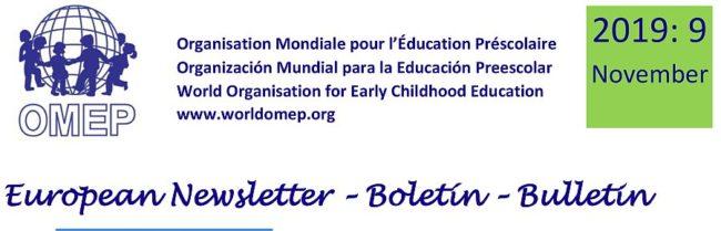 2019-9 European Newsletter-OMEP